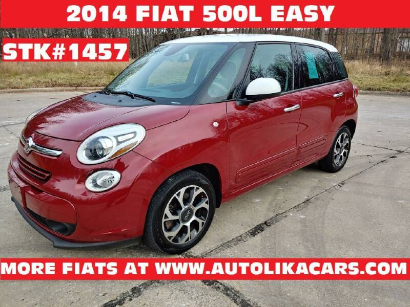 2014 FIAT 500L for sale at Autolika Cars LLC in North Royalton OH