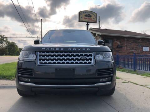 2016 Land Rover Range Rover for sale at All Starz Auto Center Inc in Redford MI