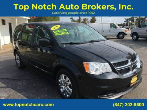 2015 Dodge Grand Caravan for sale at Top Notch Auto Brokers, Inc. in Palatine IL