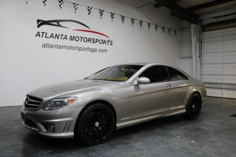 2008 Mercedes-Benz CL-Class for sale at Atlanta Motorsports in Roswell GA