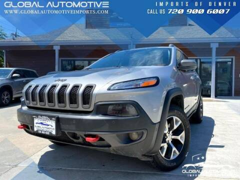2014 Jeep Cherokee for sale at Global Automotive Imports of Denver in Denver CO