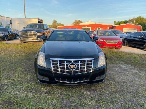 2012 Cadillac CTS for sale at ONYX AUTOMOTIVE, LLC in Largo FL