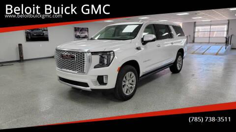 2021 GMC Yukon XL for sale at Beloit Buick GMC in Beloit KS