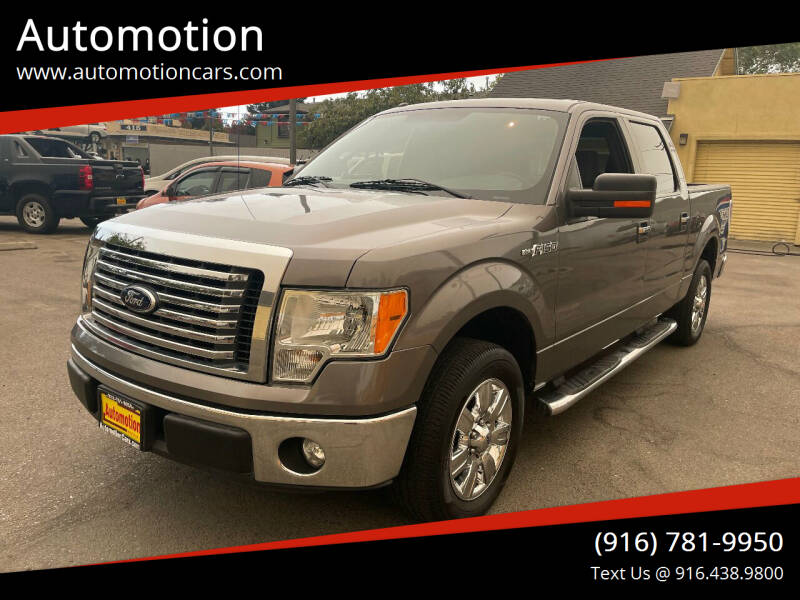2012 Ford F-150 for sale at Automotion in Roseville CA