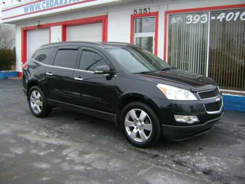 2011 Chevrolet Traverse for sale at Cedar Auto Sales in Lansing MI