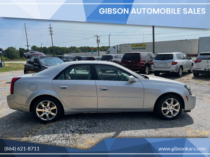 2007 Cadillac CTS for sale at Gibson Automobile Sales in Spartanburg SC