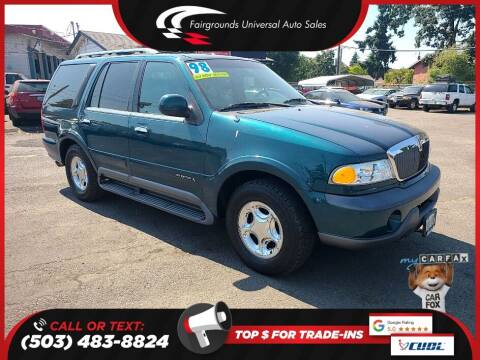 1998 Lincoln Navigator for sale at Universal Auto Sales in Salem OR
