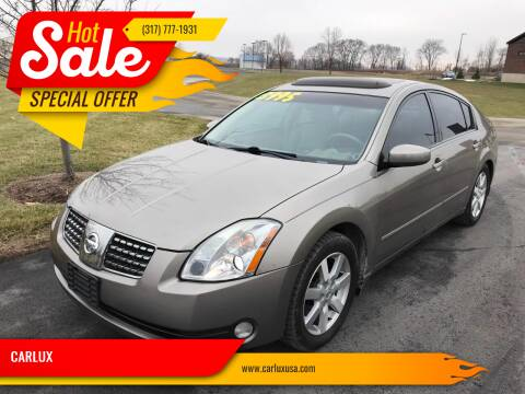 2004 Nissan Maxima for sale at CARLUX in Fortville IN