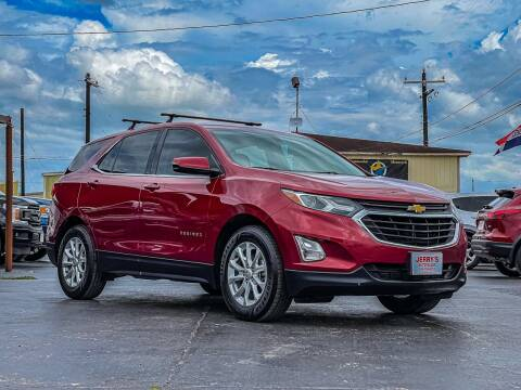 2018 Chevrolet Equinox for sale at Jerrys Auto Sales in San Benito TX