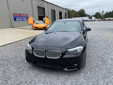 2011 BMW 5 Series for sale at Alpha Automotive in Odenville AL