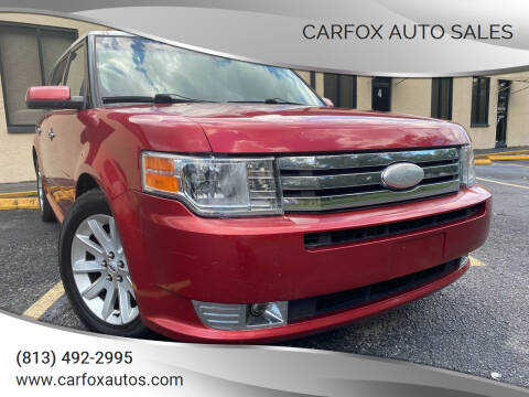 2011 Ford Flex for sale at Carfox Auto Sales in Tampa FL