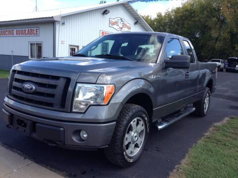 2010 Ford F-150 for sale at Steves Auto Sales in Cambridge MN