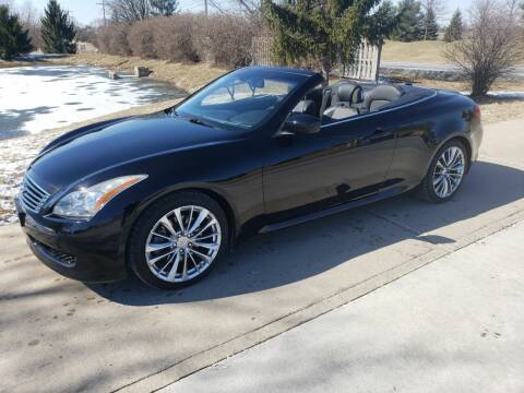 2010 Infiniti G37 Convertible for sale at Exclusive Automotive in West Chester OH