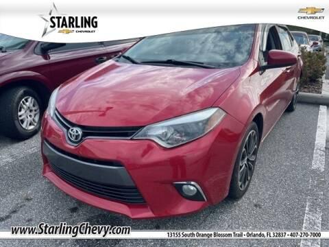 2016 Toyota Corolla for sale at Pedro @ Starling Chevrolet in Orlando FL