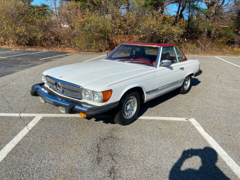 1978 Mercedes-Benz 450 SL for sale at Clair Classics in Westford MA