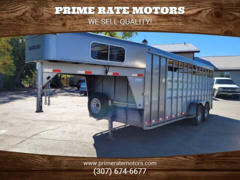 2009 Travalong 20' Stock Combo
