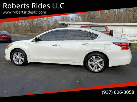 2015 Nissan Altima for sale at Roberts Rides LLC in Franklin OH