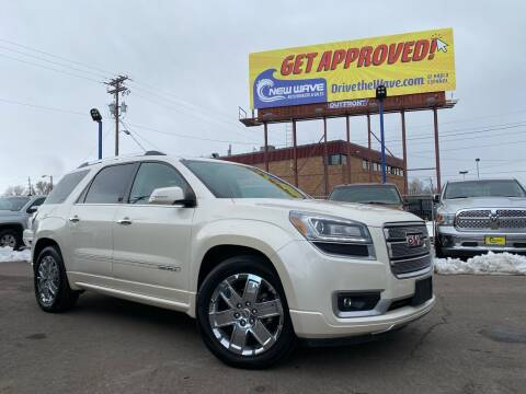 2013 GMC Acadia for sale at New Wave Auto Brokers & Sales in Denver CO