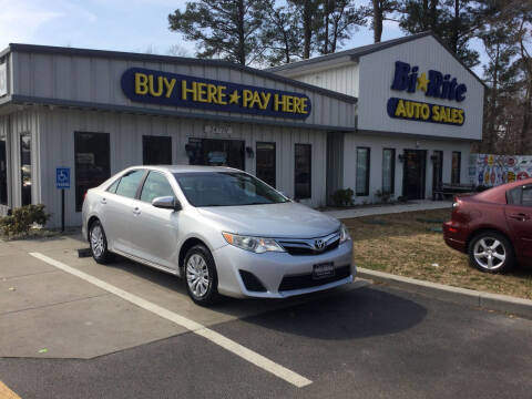 2012 Toyota Camry for sale at Bi Rite Auto Sales in Seaford DE