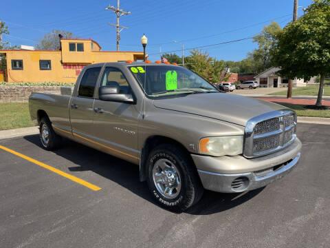 2003 Dodge Ram Pickup 3500 for sale at Midwest Motors 215 Inc. in Bonner Springs KS