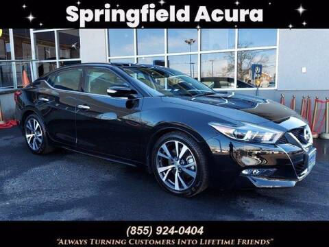 2017 Nissan Maxima for sale at SPRINGFIELD ACURA in Springfield NJ
