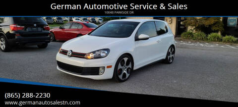 2012 Volkswagen GTI for sale at German Automotive Service & Sales in Knoxville TN
