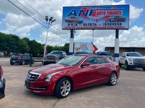 2015 Cadillac ATS for sale at ANF AUTO FINANCE in Houston TX