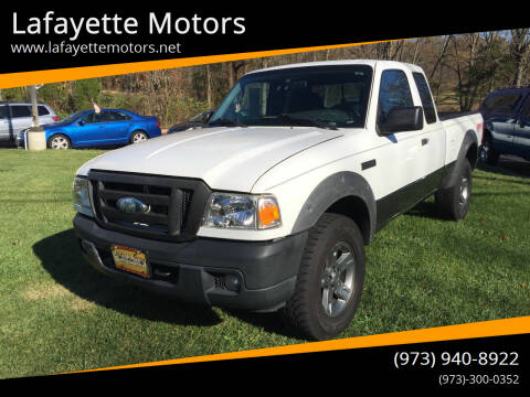 2006 Ford Ranger for sale at Lafayette Motors 2 in Andover NJ