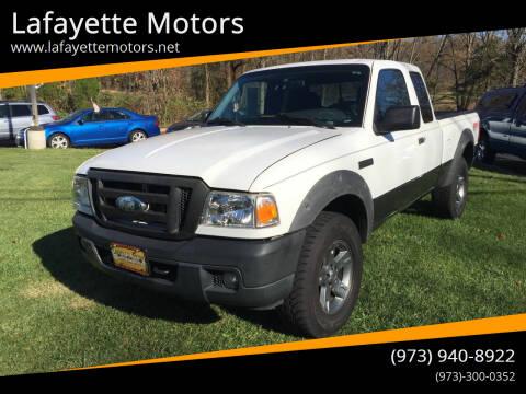 2006 Ford Ranger for sale at Lafayette Motors 2 in Andover NJ