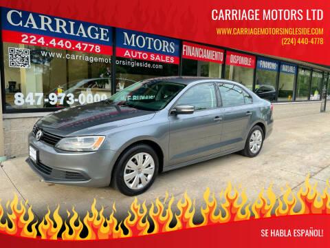 2014 Volkswagen Jetta for sale at Carriage Motors LTD in Ingleside IL
