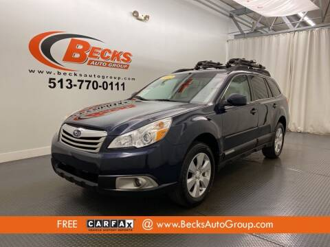 2012 Subaru Outback for sale at Becks Auto Group in Mason OH