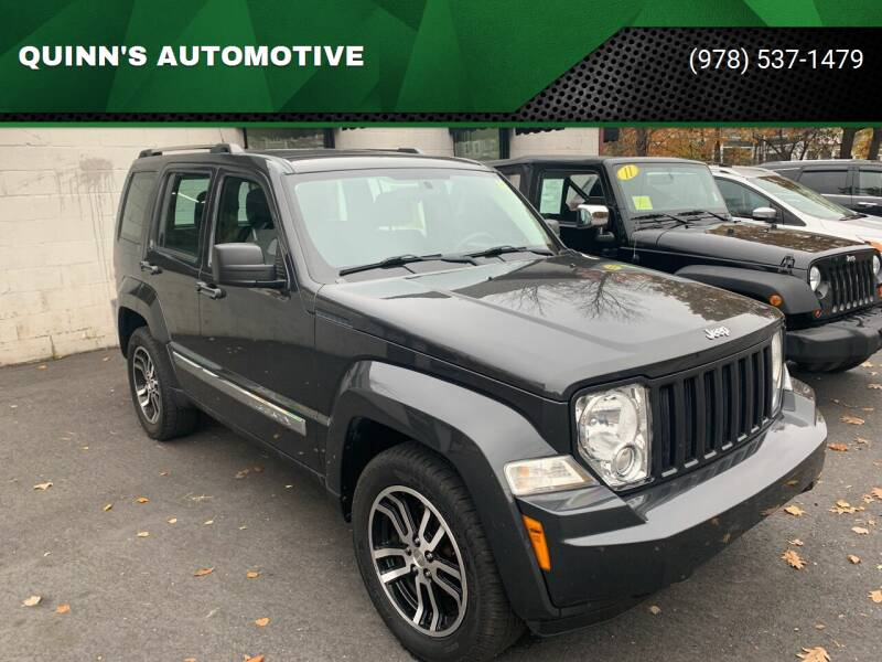 2011 Jeep Liberty for sale at QUINN'S AUTOMOTIVE in Leominster MA