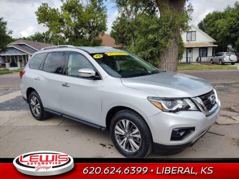 2019 Nissan Pathfinder for sale at Lewis Chevrolet Buick of Liberal in Liberal KS