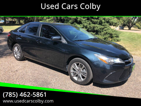 2016 Toyota Camry for sale at Used Cars Colby in Colby KS