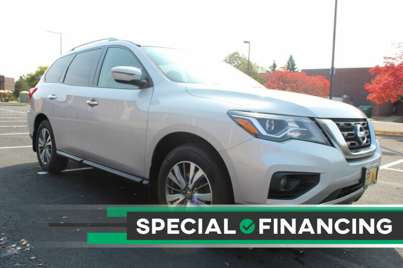 2017 Nissan Pathfinder for sale at K & L Auto Sales in Saint Paul MN