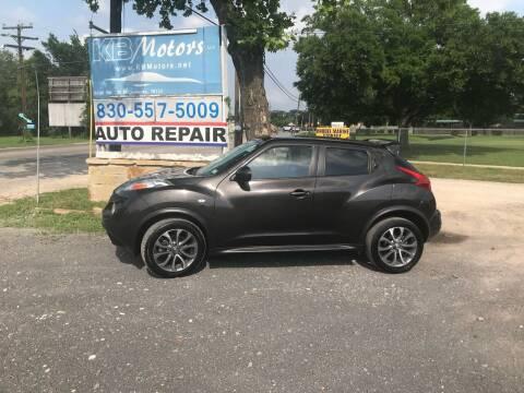 2012 Nissan JUKE for sale at K & B Motors LLC in Mc Queeney TX
