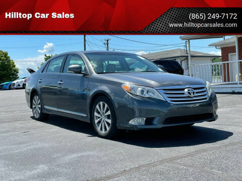 2011 Toyota Avalon for sale at Hilltop Car Sales in Knox TN