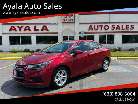 2017 Chevrolet Cruze for sale at Ayala Auto Sales in Aurora IL