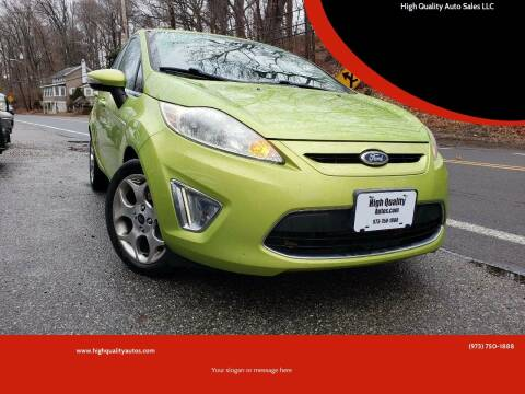 2011 Ford Fiesta for sale at High Quality Auto Sales LLC in Bloomingdale NJ