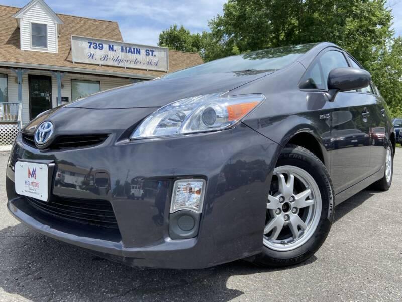 2011 Toyota Prius for sale at Mega Motors in West Bridgewater MA