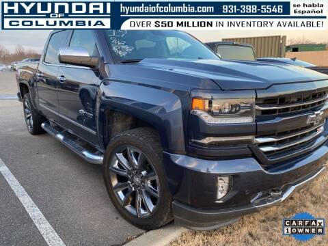 2018 Chevrolet Silverado 1500 for sale at Hyundai of Columbia Con Alvaro in Columbia TN
