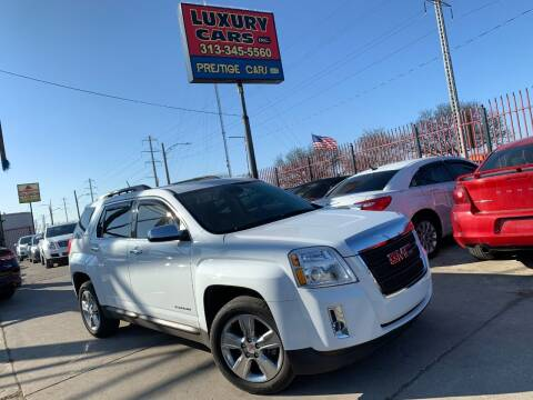 2015 GMC Terrain for sale at Dymix Used Autos & Luxury Cars Inc in Detroit MI