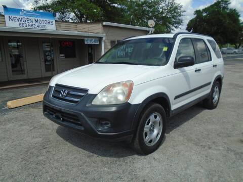 2005 Honda CR-V for sale at New Gen Motors in Lakeland FL