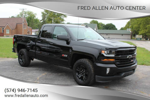2017 Chevrolet Silverado 1500 for sale at Fred Allen Auto Center in Winamac IN