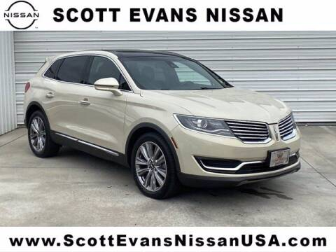 2016 Lincoln MKX for sale at Scott Evans Nissan in Carrollton GA
