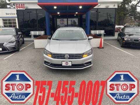 2017 Volkswagen Passat for sale at 1 Stop Auto in Norfolk VA