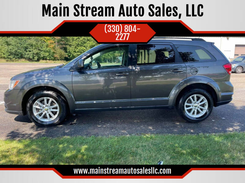 2014 Dodge Journey for sale at Main Stream Auto Sales, LLC in Wooster OH