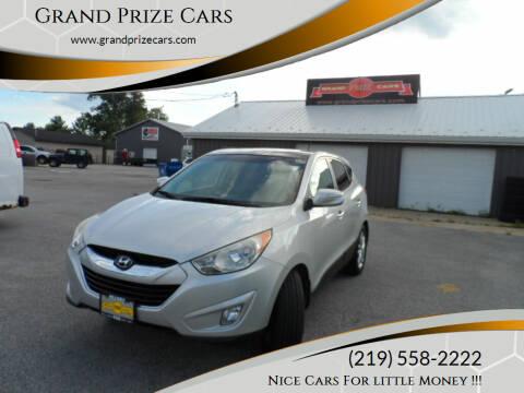 2011 Hyundai Tucson for sale at Grand Prize Cars in Cedar Lake IN