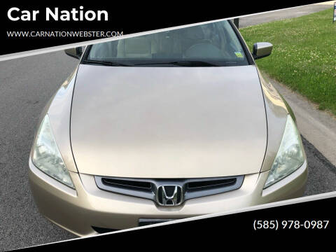2005 Honda Accord for sale at Car Nation in Webster NY
