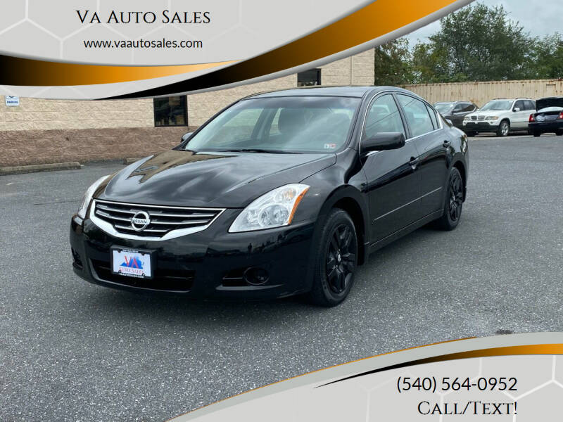 2011 Nissan Altima 2.5 S 4dr Sedan - Harrisonburg VA